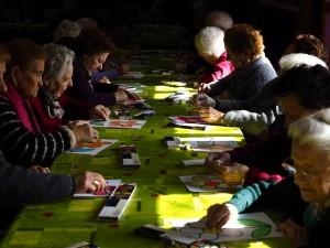Fotografía en la que se puede ver un grupo de participantes en nuestros talleres