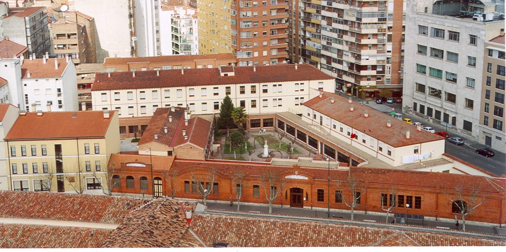 Vista aérea de la residencia actual
