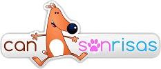 """Logo de """"Can Sonrisas""""."""
